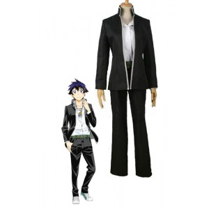 Nisekoi Ichijyo Raku Cosplay Costume Black Suit