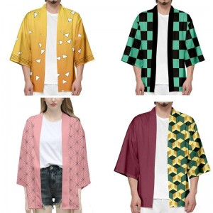 Demon Slayer 4 Color Coat  Co's'play Costume