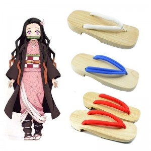 Demon Slayer Kimetsu no Yaiba 3 Color Clogs Cosplay Shoes