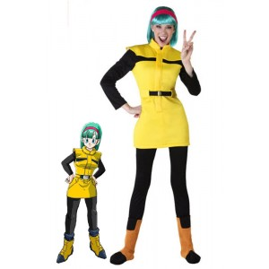 Dragon Ball Bulma Anime Cosplay Costumes Halloween Adults Children Costumes