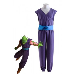 Dragon Ball For Piccolo Uniforms Cosplay Costume Purple