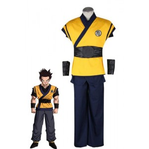 Dragon Ball Son Gokū 3th Version Yellow Anime Cosplay Costumes