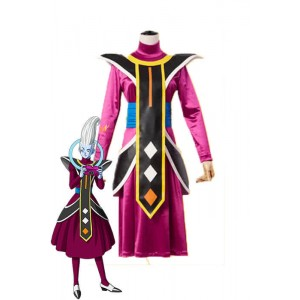 Dragon Ball Super Whis Purple Anime Cosplay Costumes