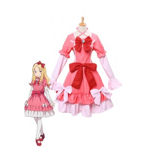Eromanga Sensei Elf Yamada Pink Dress Anime Cosplay Costumes