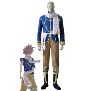 Fairy Tail Dragon Slayers Natsu Dragneel Celestial Spirit Cosplay Costumes