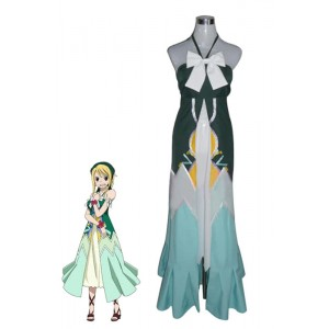 Fairy Tail Lucy Heartfilia Costume Personality Dress