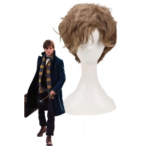 Fantastic Beasts and Where to Find Them Newt Cosplay Wigs