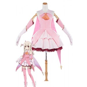 Fate/kaleid liner Prisma Illya Illyasviel von Einzbern Cosplay Costumes Battle Suits