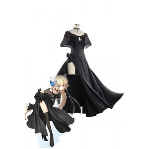 Fate/Grand Order Fate GO Jeanne D'Arc Black Cosplay Dress Anime Cosplay Costumes