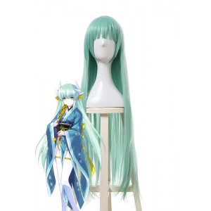 Fate/Grand Order Kiyohime Long Green Cosplay Party Woman Wigs