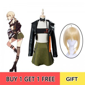Fate/Grand Order Fate Go Saber Moon Girlfriend Cosplay Costume