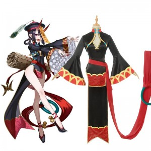 Fate/Grand Order Shuten Doji Zombie Halloween Cosplay Costume