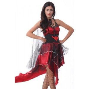 Vampire Twilight Gothic Black Red Dress Up Halloween Sexy Adult Costume 5f035ab142a5