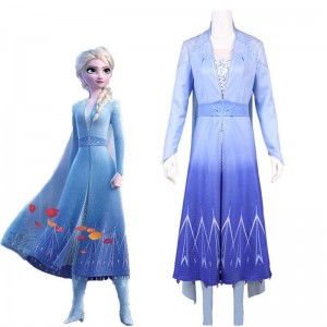 Film Elsa Cosplay Costume