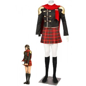 Final Fantasy: Type-0 Suzaku Group 0 Deuce Suit Cosplay Costumes