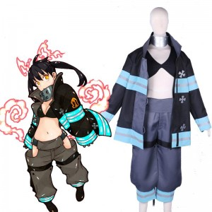 Fire Force Kotatsu Tamaki Uniform Cosplay Costume