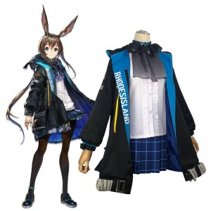 Game Arknights Amiya Cosplay Costume