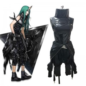 Game Arknights Hoshiguma Cosplay Costume