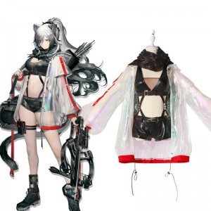 Game Arknights Schwarz Cosplay Costume