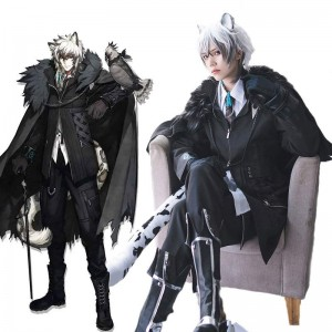 Game Arknights SliverAsh Cosplay Costume