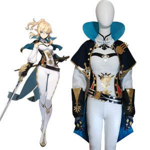 Game Genshin Impact Jean Cosplay Costume