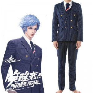 Game Wang Zhe Rong Yao Zhu Ge Liang Male Suit Cosplay Costume