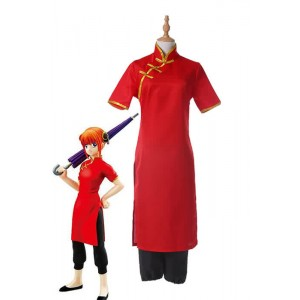 Gintama Kagura 7th Version Cosplay Costumes