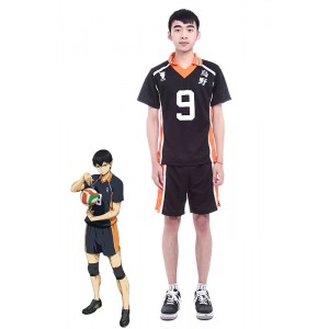 Haikyū!! Tobio Kageyama Number 9 Volleyball Sports Cosplay Costumes