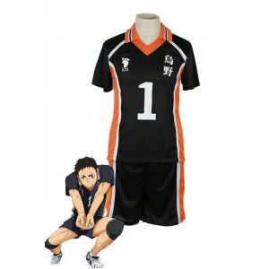 Haikyū!! Sawamura Daichi Number 1 Volleyball Sports Cosplay Costumes