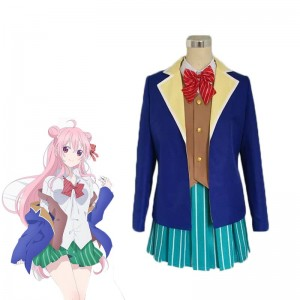 Happy Sugar Life Matsuzaka Satō School Uniform Cosplay Costume