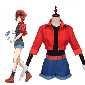 Hataraku Saibou AE3803 Work Costume Anime Cosplay Costume