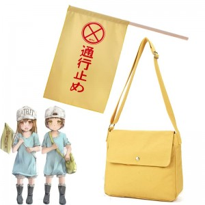 Hataraku Saibou Cells At Work Platelet Cosplay Bag And Flag