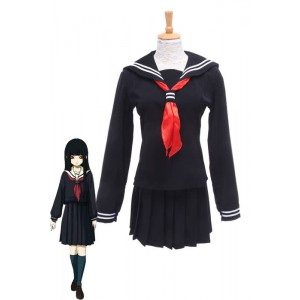 Anime Hell Girl Jigoku Shoujo Enma Ai Sailor Uniform Cosplay Costumes