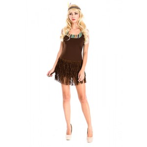 Sexy Native Beauty The savage matriarch Costume