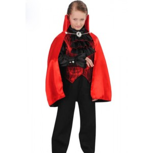 Halloween Party Boys Vampire Suit Stage Performance Cosplay Costume