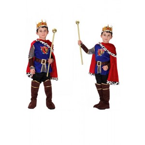 Halloween the children game Arabia King Prince Charming performance clothing costumes