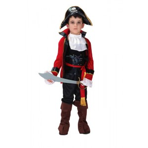 Halloween Costume Pirates of the Caribbean children clothing