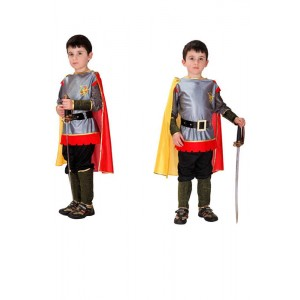 Halloween Children brave Roman warrior king prince cosplay performance Costume