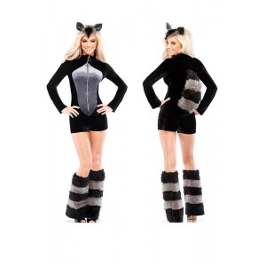 New Halloween Sexy fur fox Costume fox animal mascot costume
