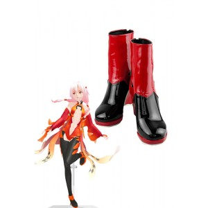 Guilty Crown Yuzuriha Inori Custom Made Cosplay Shoes