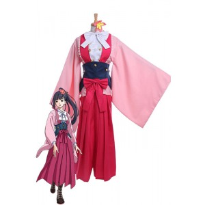 Kabaneri of  the Iron Fortress Ayame Yomogawa Cosplay Costumes