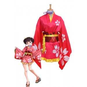 Kabaneri of the Iron Fortress Mumei Hozumi Kimono Cosplay Costumes