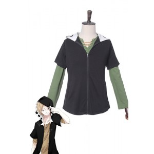 Kagerou Project Shuya Kano Black Cosplay Costume