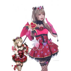 Love Live! Little Devil Costumes Kotori Minami Anime Cosplay Costumes
