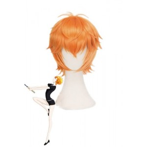 Land of the Lustrous Houseki no Kuni Zircon Short Orange Cosplay Wigs