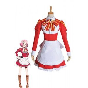 Sword Art Online Lizbeth Rika Shinozaki Cosplay Costume Dress