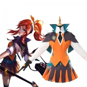 LOL Battle Academy Lux Cosplay Costume