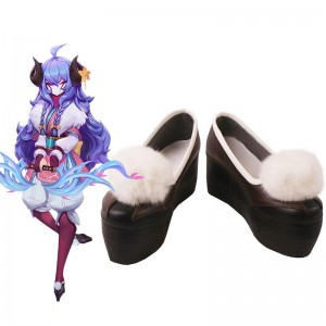 LOL Spirit Blossom Kindred Cosplay Shoes