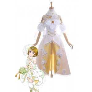Love Live Koizumi Hanayo Wedding Dress Cosplay Costume