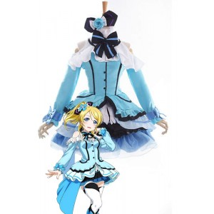 Love Live! Kira-Kira Sensation Eli Ayase Anime Cosplay Costumes Stage Dresses